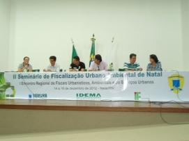 Painel: A Fiscalização Urbanística, Ambiental e de Serviços Urbanos – Realidades e desafios