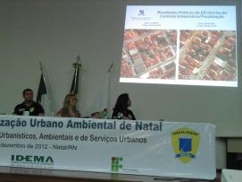 O Eng. Civil Carlos Ney expõe situação do Licenciamento Urbano Ambiental do Natal