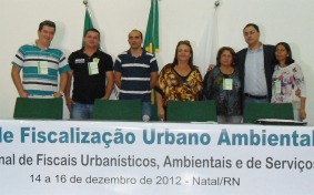 Delegação da Secretaria de Meio Ambiente de João Pessoa/PB