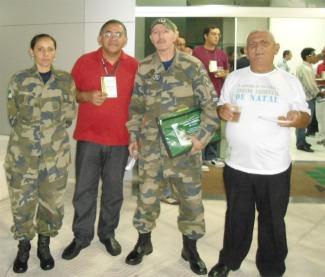 Servidores da SEMURB Natal e Guardas Municipais do GAAM Natal