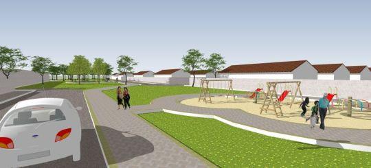 Urbanização de Área Verde 2