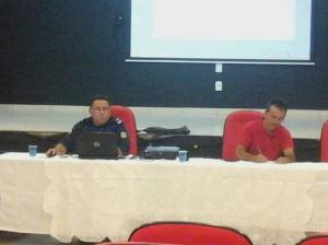 Palestra sobre a atuação do Pelotão Ambiental de Fortaleza - IV Seminário Regional de Fiscalização Urbanoambiental - Fortaleza/CE - Nov/2014