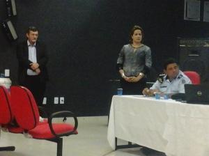 Palestra sobre a Carta Acústica de Fortaleza no IV Seminário Regional de Fiscalização Urbanoambiental - Fortaleza/CE - Nov/2014
