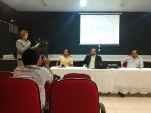 Palestra sobre a Fiscalização Ambiental da SEMACE no IV Seminário Regional de Fiscalização Urbanoambiental - Fortaleza/CE - Nov/2014