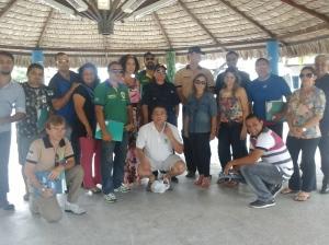 Delegação de Natal/RN no IV Seminário Regional de Fiscalização Urbanoambiental - Fortaleza/CE - Nov/2014
