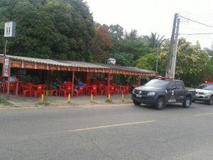 Agentes ambientais notificam bar na cidade satélite