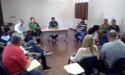 Visita de Fiscais de São José de Rio Preto, Serra e Vila Velha recebidos pelos anfitriões