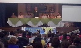 Secretário da SEMURB, Marcelo Rosado, abre o evento