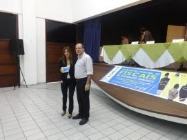 Dra. Gilka da Mata, Promotora de Justiça de Defesa do Meio Ambiente e o Secretário de Meio Ambiente e Urbanismo do Natal, Marcelo Rosado.