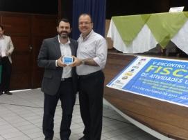 Secretário Adjunto de Fiscalização e Licenciamento da SEMURB, Daniel Nicolau e Secretário da SEMURB, Marcelo Rosado