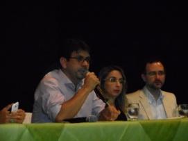 Secretário de Meio ambiente e Recursos Hídricos do RN falando aos Fiscais de Atividades Urbanas