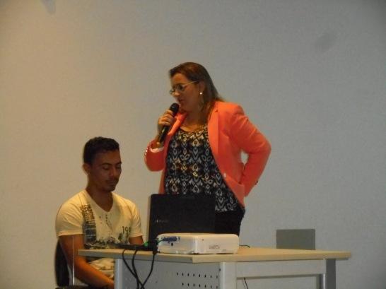 Eneylândia Rabelo, Fiscal da Visa de Fortaleza e Vice-Presidente da ANSFISC