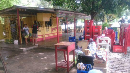 Fiscalização Ambiental remove cigareira de área pública (1)